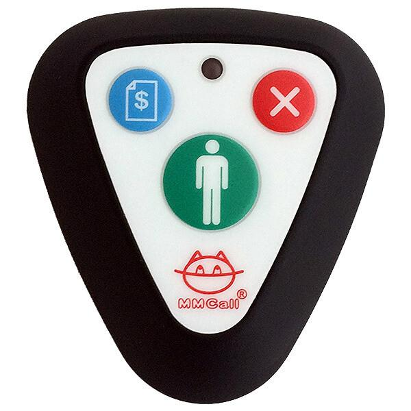Call Button With 3 Keys Front View
